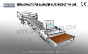 Skpl-2560s CE Glass PVB Laminated Production Line/PVB Glass Laminated Machine pictures & photos