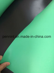 India 2mm Green/Black Double PVC Waterproof Membrane pictures & photos