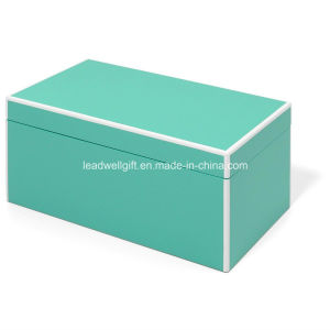 Elle Lacquer Jewelry Box, Turquoise pictures & photos