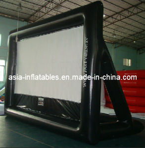 Custome-Made High Quality Airtight Inflatable Movie Screen for Rental pictures & photos