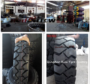 Forklift Tire with Good Traction (18X7-8 28X9-15) pictures & photos