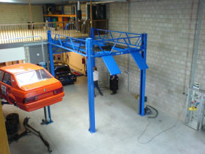 High Lifting Height 4 Post Car Lift (AA-4P35C) pictures & photos