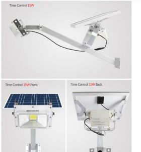 Solar Street Flood Light Garden Backyard Gate Lamp pictures & photos