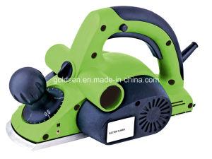 Goldentool 82mmx2mm 750W Power Boar Cutting Thicknesser Portable Electric Wood Planer Machine (GW8244)