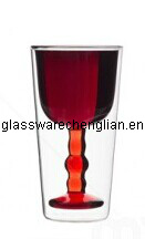 High Borosilicate Double Wall Glass Cup (B-DBW26) pictures & photos