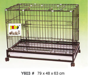 Portable Pet Dog Cage Y603