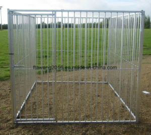 Customized Galvanized Square Dog Pen Dog Cage Dog Kennel pictures & photos