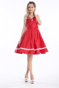 Red Sexy Short Popular Party Grown Evening Dress