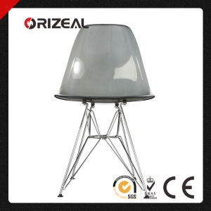 Replica Modern Designer Eames Dsr Side PC Plastic Crystal Dining Chair (OZ-1152RPC) pictures & photos