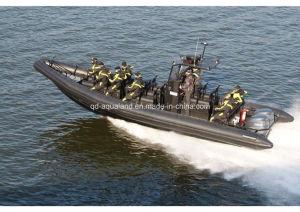 Aqualand 33feet 10m Rib Motor Boat/Rigid Inflatable Patrol Boat (RIB1050) pictures & photos