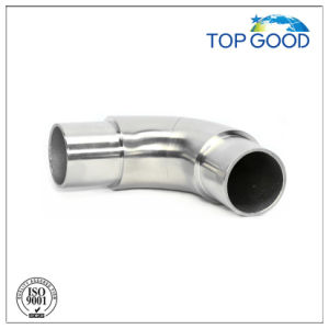 Stainless Steel Handrail Adjustable Tube Connector with Satin Finish pictures & photos