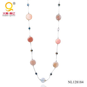 2014 Crystal and Agate Necklace Costume Jewelry pictures & photos