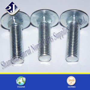 Carbon Steel Zinc Plated Round Head Bolt (ASME B18.5) pictures & photos