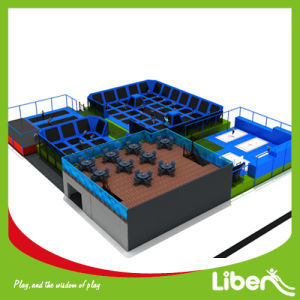Commercial Gymnastic Indoor Trampoline Park for Sale pictures & photos