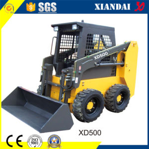 High Quality Skid Steer Loader with Attachments (XD500) pictures & photos