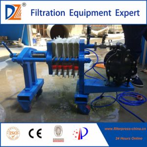 Dazhang Mini Filter Press by Manual Operation with Screw Jack pictures & photos
