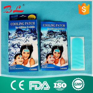 Cooling Gel Patch for Kids Cold Therapy Fever and Headache Pain Relief Patch pictures & photos