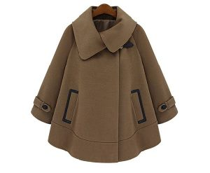 Ladies Fashion Winter Cloak Coat (S3010001)