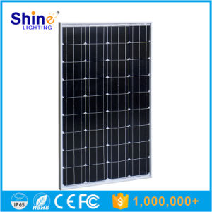 100W Monocrystalline Solar Panel with TUV & Ce Certificate pictures & photos