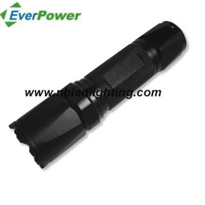 300lumen Portable Aluminum CREE 5W LED Flashlight (FH-1025)