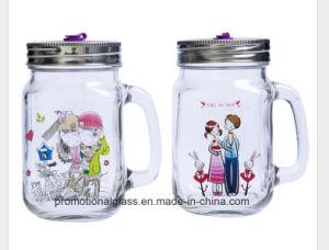 Valentines Gift Personalised Sublimation 16oz Mason Jar pictures & photos