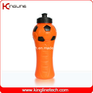 Plastic Sport Water Bottle, Plastic Sport Bottle, 600ml Plastic Drink Bottle (KL-6648) pictures & photos