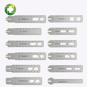 Cheap High Quality Durable Autoclavable Sterilize Reciprocating Saw Blades Orthopedic Traumatic Amputation Catagma Fractura Articular Joint Ossium Surgery pictures & photos
