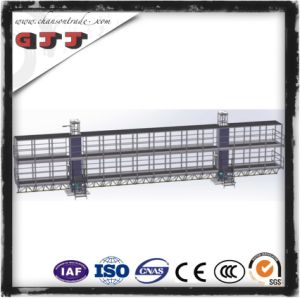 GJJ SCP Type Suspended Safety Work Platform for Building Construction Double Columns Double Floors