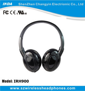 Dual Channel Wireless Headset for TV, DVD, VCD, MP3, PC