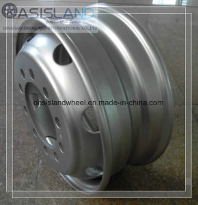 Heavy Duty Steel Truck Wheel (19.5X8.25) for Highway pictures & photos