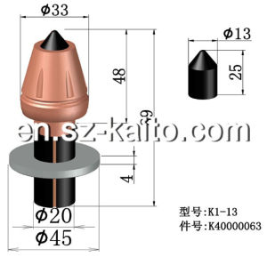 Wirtgen Road Milling Teeth, Milling Machine Cutter Bits pictures & photos