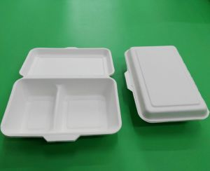 Disposable Take Away Paper Lunch Box pictures & photos