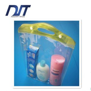 Clear PVC Wash Cosmetic Bags Body Wash Bag Factory Direct pictures & photos