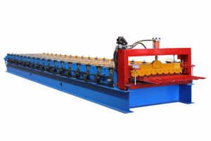 Steel Roof Forming Machine Roof Panel Roll Forming Machine pictures & photos