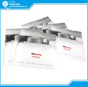 Saddle Stitch Brochure Printing with Silver Printing pictures & photos