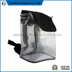 Fashion Waterproof Clear PVC Bag Backpack for Traveling Travel
