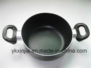 Amazon Vendor Kitchenware Aluminum Nonstick Coating Sauce Pot Without Lid pictures & photos