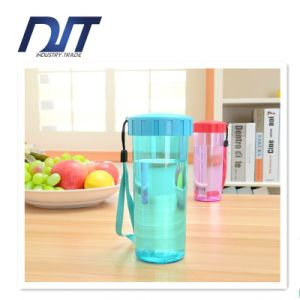 430ml Plastic Cups PC Portable Sports Leakproof Customized Promotional Gifts