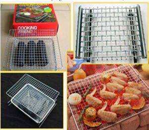 Barbecue Crimped Wire Mesh pictures & photos