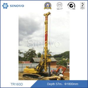 Pile Driver Rig for 50m depth 1m diameter TR160 pictures & photos