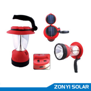 Solar Camping Light with Solar Torch (2014 new model) pictures & photos