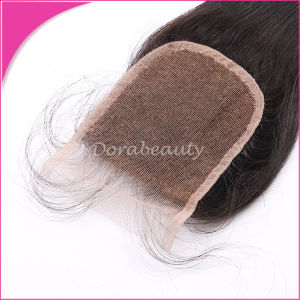 Wholesale Lace Closure Brazilian Remy Hair pictures & photos