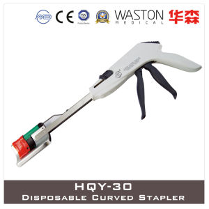 Hqy-30 Disposable Curved Stapler pictures & photos