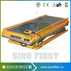 1ton Stationary Scissor Lift Trolley pictures & photos