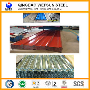 Hot Dipped Corrugated Galvanized Metal Steel Roofing Tile Sheet pictures & photos