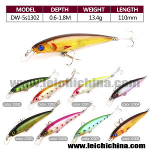 Wholesale 13.4G 110mm 8 Color Per Set Fishing OEM Lure pictures & photos