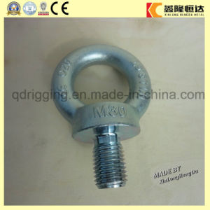 Carbon Steel Drop Forged Galvanized Lifting Eye Bolt DIN 580m64 pictures & photos