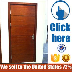 Teak Waterproof Main Entry Wood Door pictures & photos