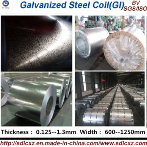 Gi / Galvanized Steel Coil (0.125--1.3mm) pictures & photos