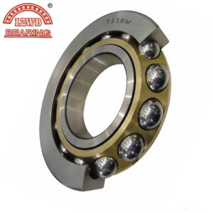 Professional Manufactured Brass Cage Angular Contact Ball Bearing pictures & photos